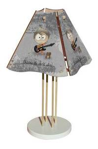 Lampe Graine de Rock Star